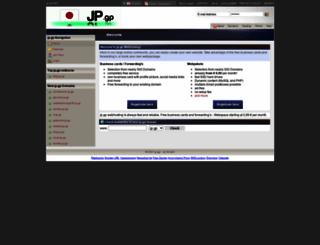 jp.gp screenshot