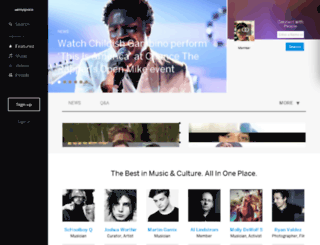 jp.myspace.com screenshot