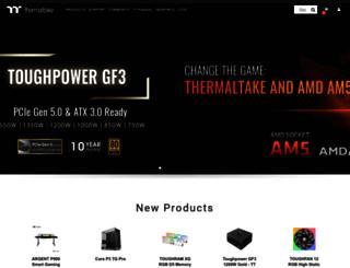 jp.thermaltake.com screenshot