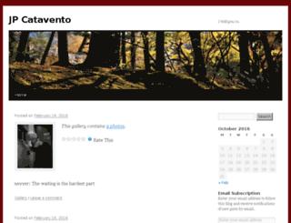 jpcatavento.wordpress.com screenshot