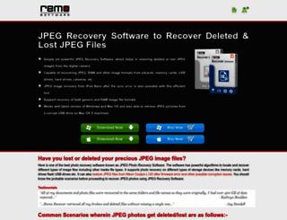 jpegrecoverysoftware.com screenshot