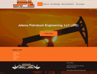 jpepetro.com screenshot