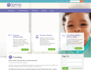 jpma.org screenshot