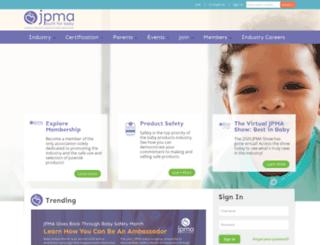 jpma.site-ym.com screenshot