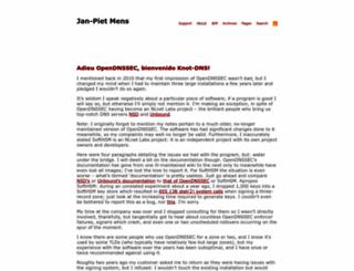 jpmens.net screenshot