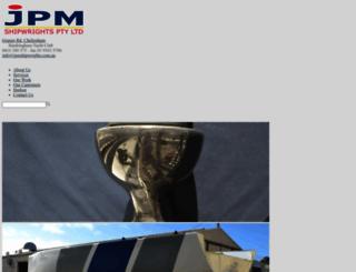 jpmshipwrights.com.au screenshot