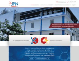 jpnpharma.net screenshot