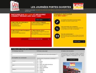 jpo.easycash.fr screenshot
