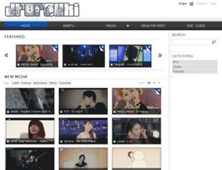 jpopsuki.tv screenshot