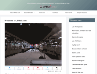jprail.com screenshot