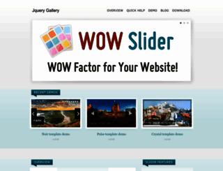 jquery-gallery.com screenshot