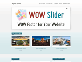 jquery-slider.com screenshot