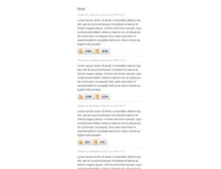 jquery-thumbs-rating.ssdtutorials.com screenshot