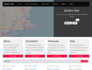 jquerygeo.com screenshot