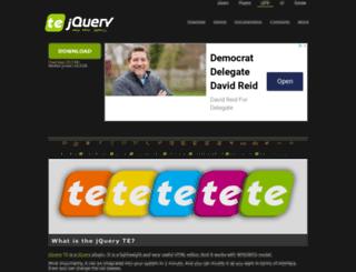 jqueryte.com screenshot