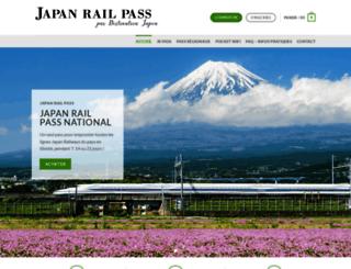 jr-pass.fr screenshot