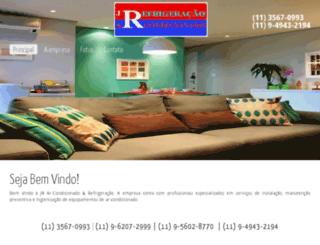 jrarcondicionadosp.com.br screenshot