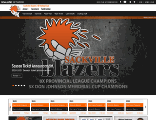 jrbblazers.goalline.ca screenshot