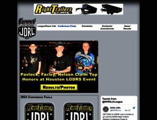 jrdragster.nhra.com screenshot