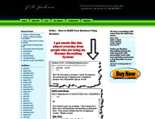 jrjackson.com screenshot