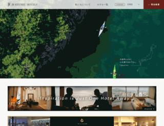 jrk-hotels.co.jp screenshot