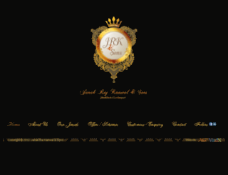 jrkjewellers.com screenshot