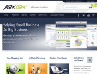 jroxdemo.com screenshot