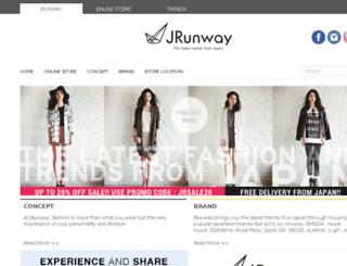 jrunway.com screenshot