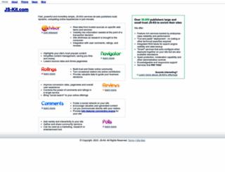 js-kit.com screenshot