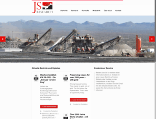 js-research.de screenshot