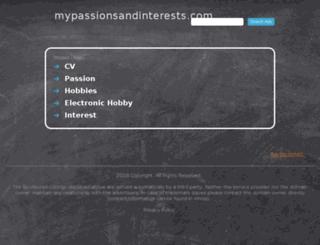 js.mypassionsandinterests.com screenshot