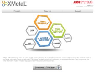 js.xmetal.com screenshot