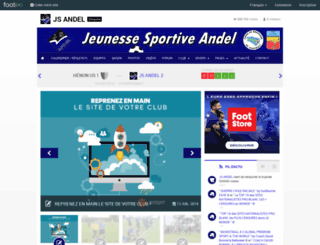 jsandel.footeo.com screenshot