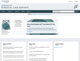 jscr.oxfordjournals.org screenshot