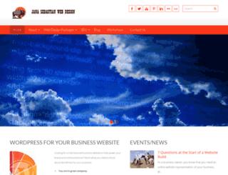 jsebastianwebdesign.com screenshot