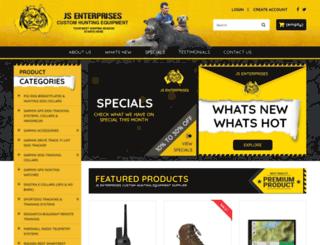 jsenthunting.com.au screenshot