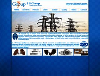 jsgroup.co.in screenshot