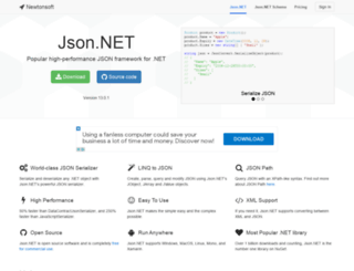 json.net screenshot