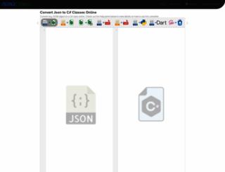 json2csharp.com screenshot