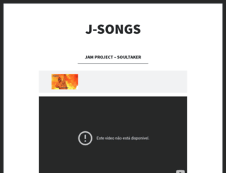 jsongs.wordpress.com screenshot