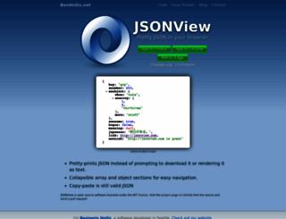 jsonview.com screenshot