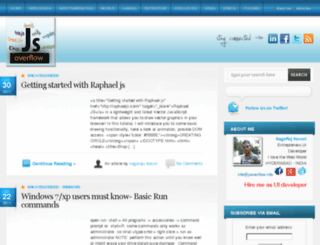 jsoverflow.info screenshot
