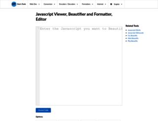jspretty.com screenshot