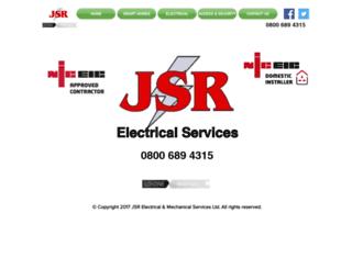 jsr-electrical.co.uk screenshot
