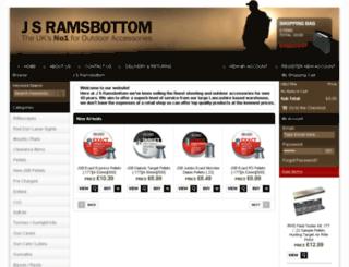 jsramsbottom.com screenshot