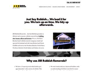 jsrrubbishremovals.com.au screenshot