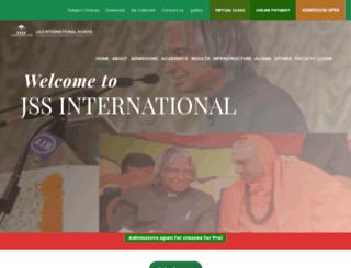 jssinternationalschoolooty.com screenshot