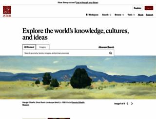 jstor.org screenshot