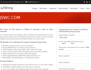 jswc.com screenshot