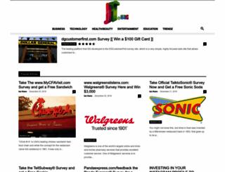 jt.org screenshot